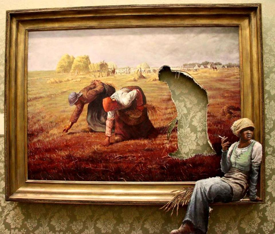 Banksy-painting-art