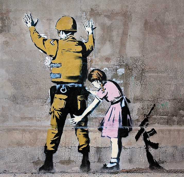Banksy-soldier-patdown-art