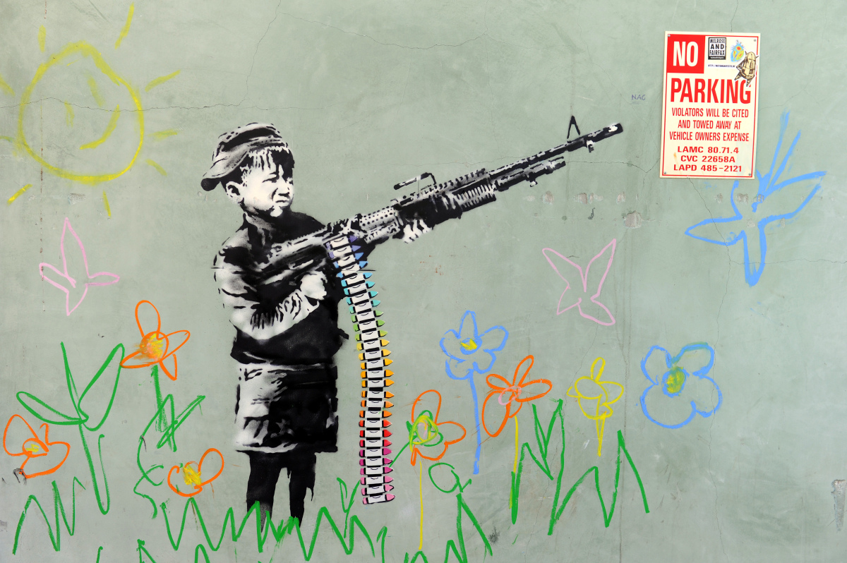 banksy-child-gun