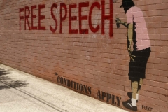 banksy free speech