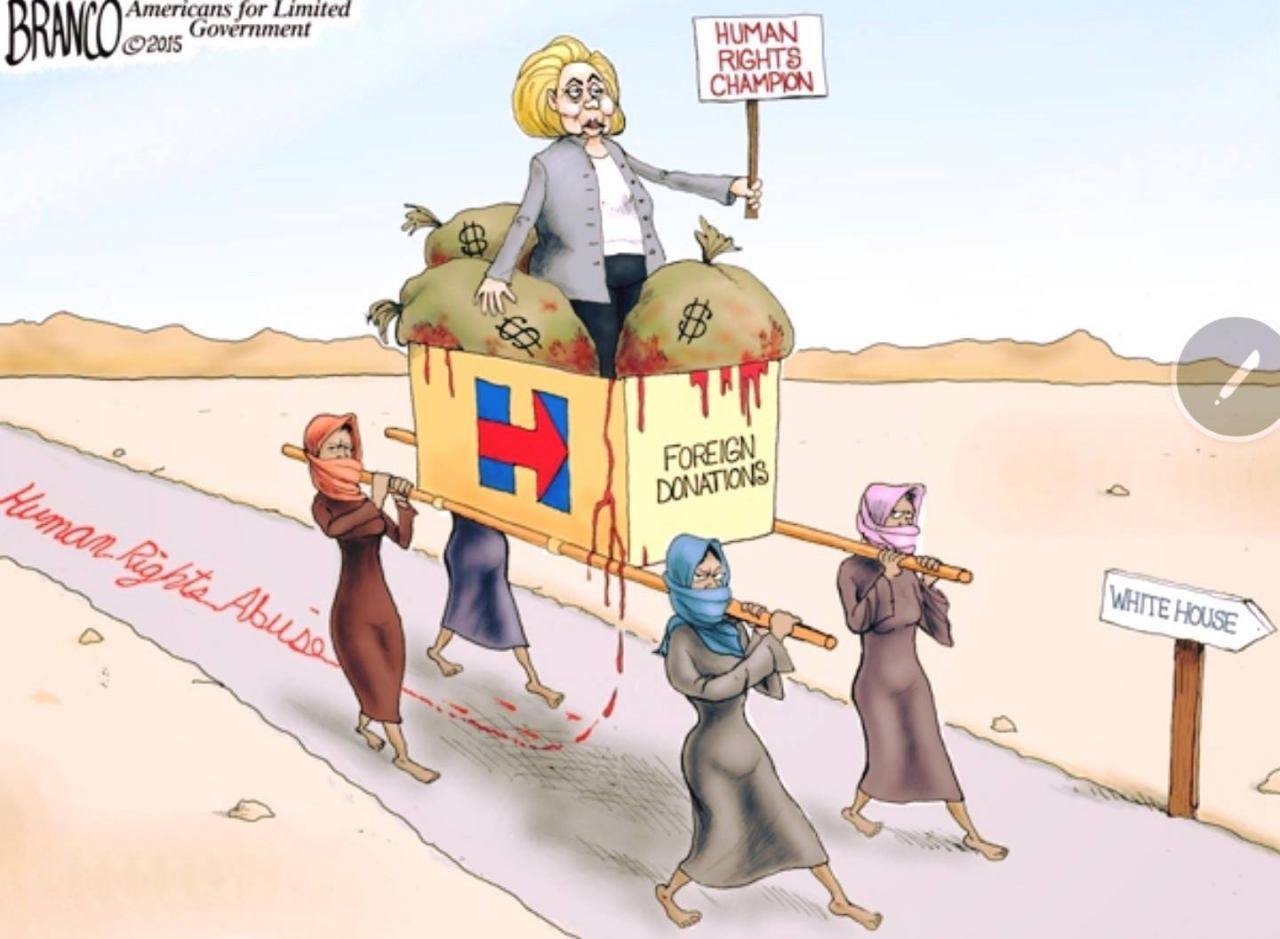 Clinton-path-to-white-house-cartoon