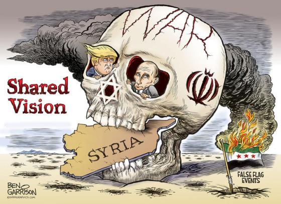 Israel-Syria-falseflag-cartoon