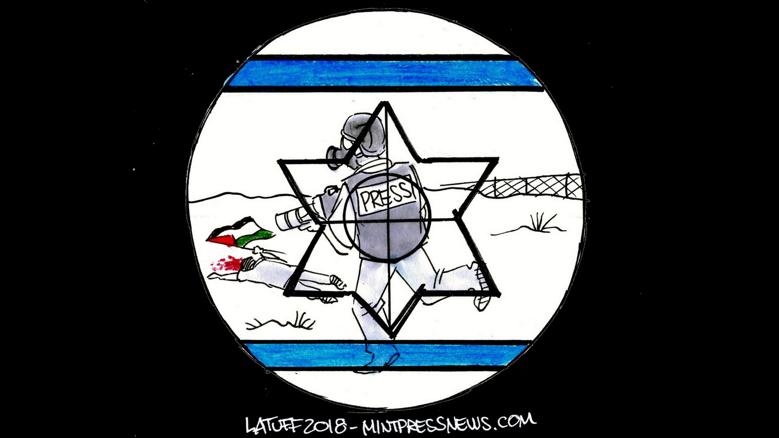 Israeli-war-crimes-cartoon