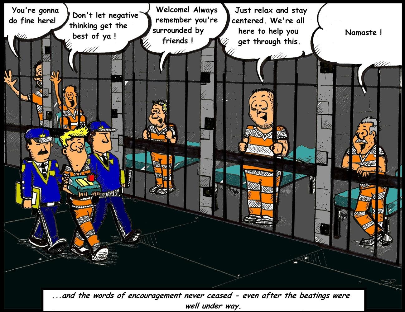 Jail Cartoon