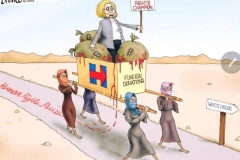 Clinton-path-to-white-house-cartoon