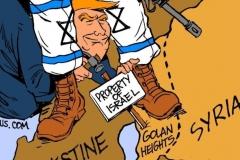 Golan-Heights-Israel-Syria-Trump-cartoon