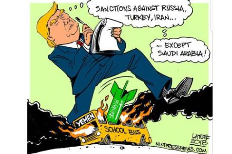 trump-sanctions-saudi-cartoon