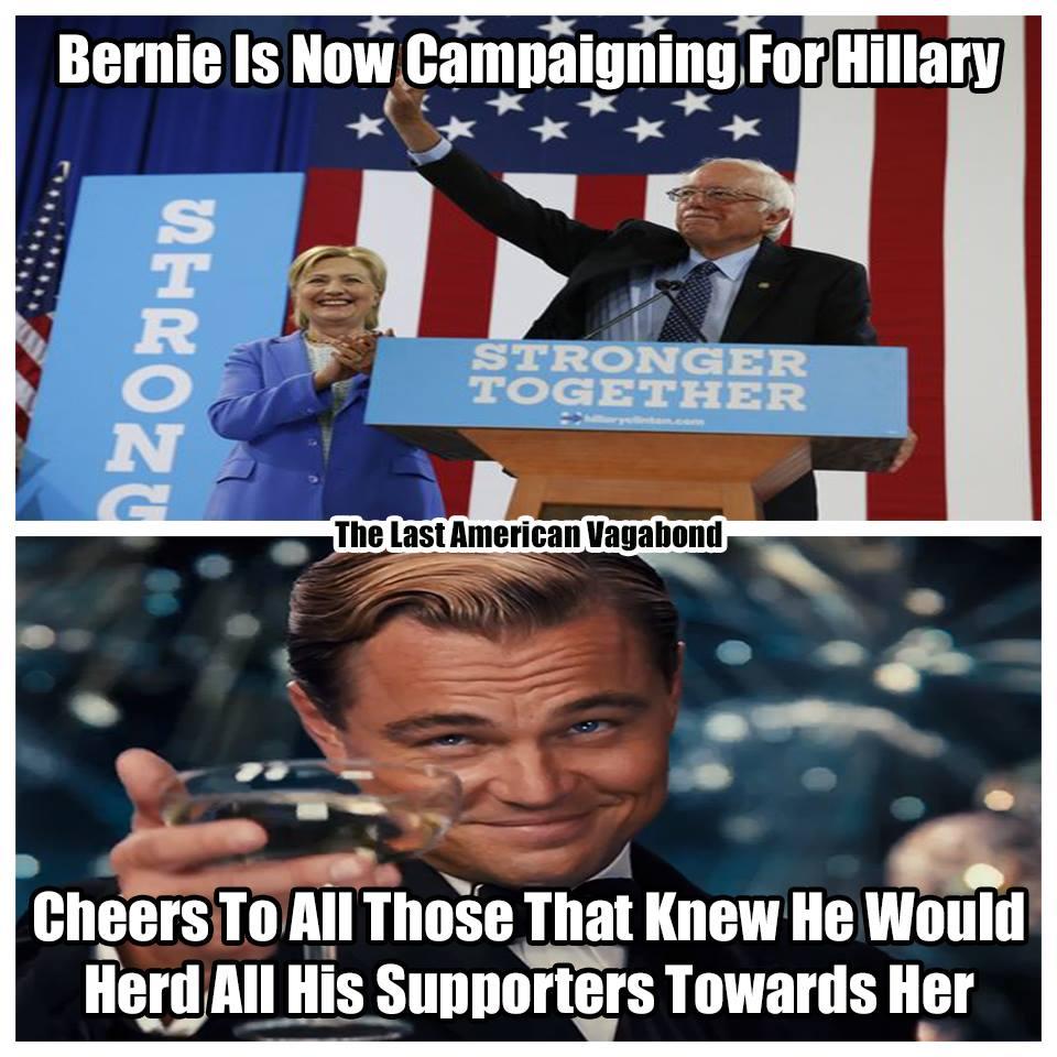Bernie-Clinton-Meme