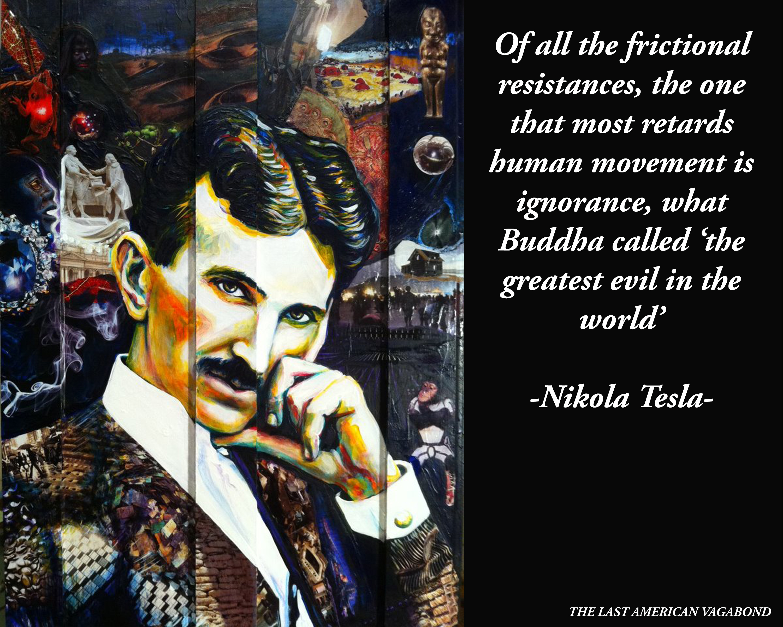 Nikola Tesla meme