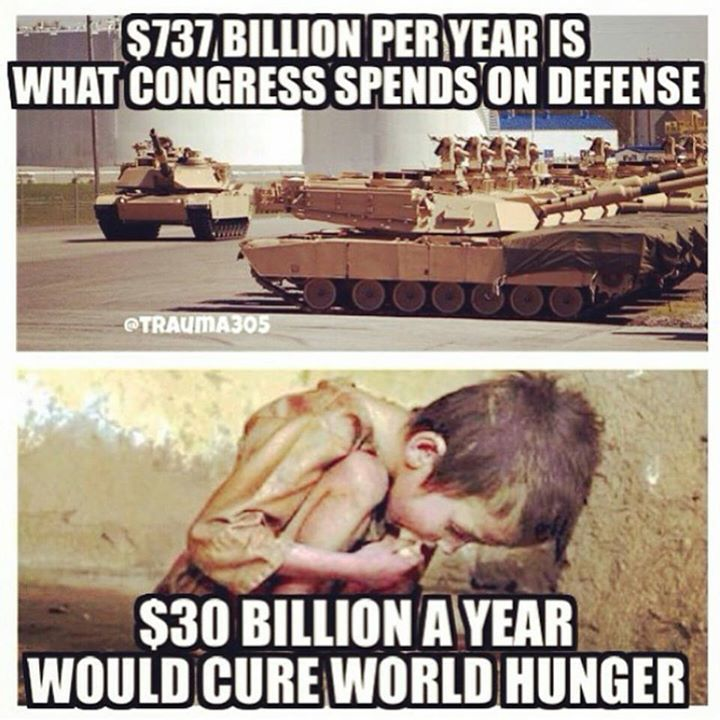 defense-spending-versus-world-hunger