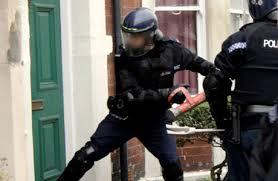 unlawful police entry